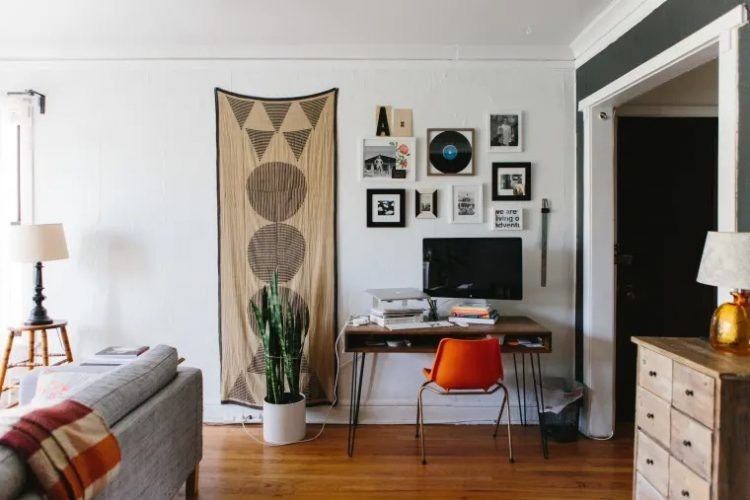 22 ideas para crear un lugar de trabajo en espacios pequeños