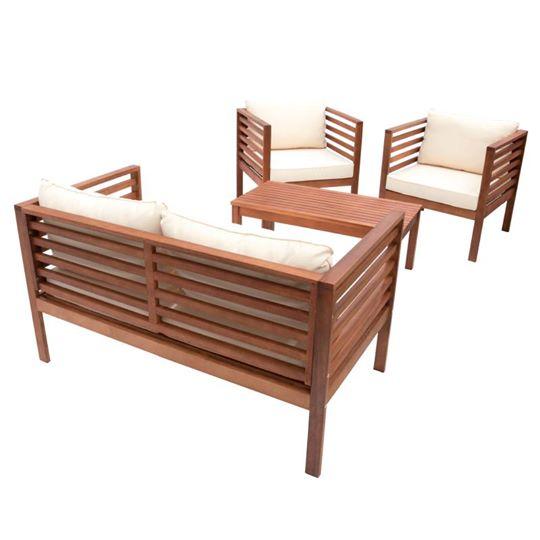 Muebles de exterior: salas y comedores