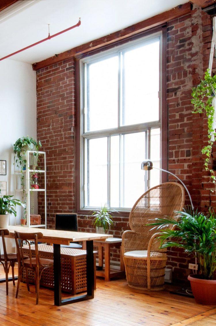 Loft estilo industrial ecléctico