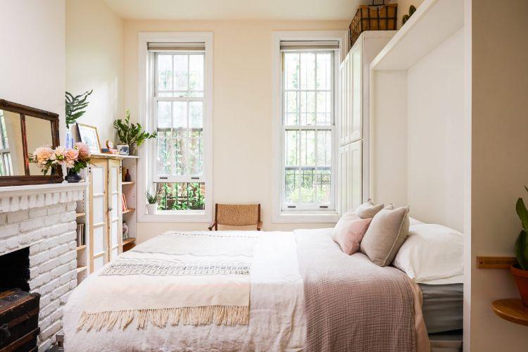 Cama abatible o cama murphy soluciona el tema del espacio de la recámara, creando una opción rápida y cómoda de implementar