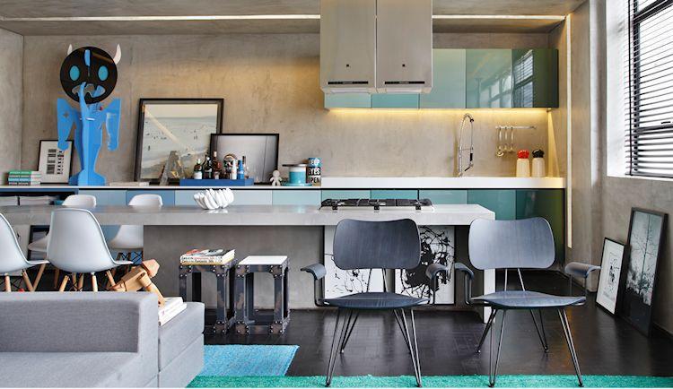 Diseño de interiores: 3 departamentos modernos y contemporáneos 2