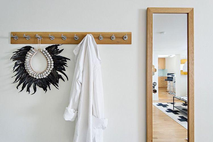Decoración estudio departamento minimalista de 33 metros² 7