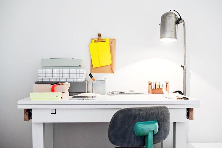 Mesa extensible como escritorio