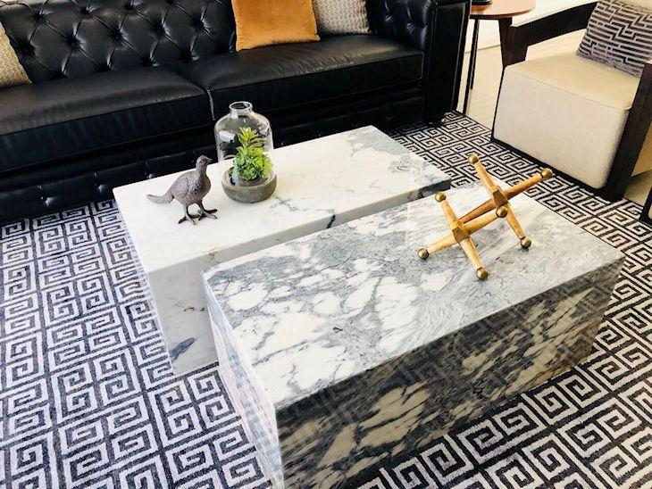 Milk: muebles y objetos en mármol 4