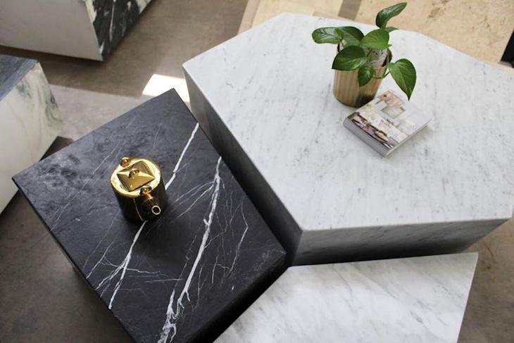 Milk: muebles y objetos en mármol 5