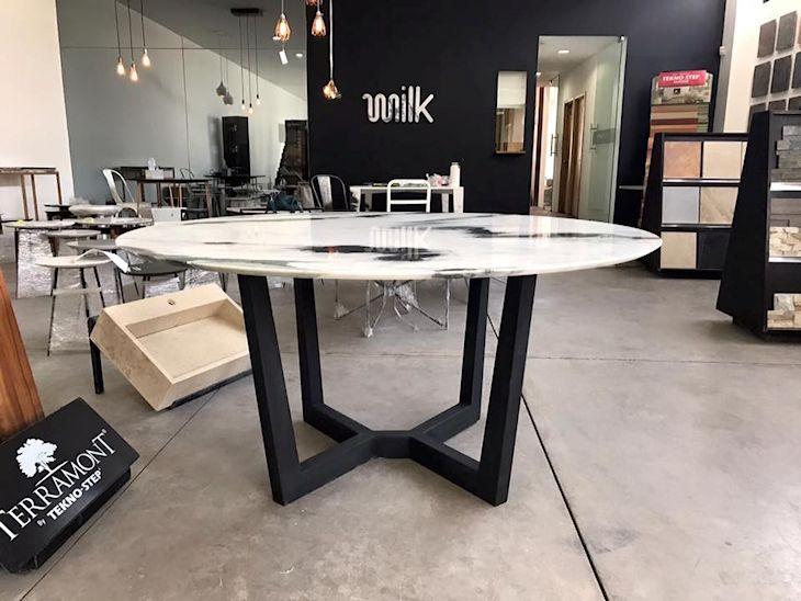 Milk: muebles y objetos en mármol 6