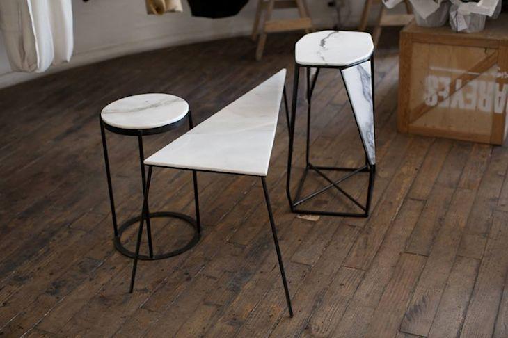 Milk: muebles y objetos en mármol 8