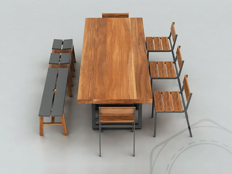 Muebles para hoteles y restaurantes de diseño contemporáneo 8