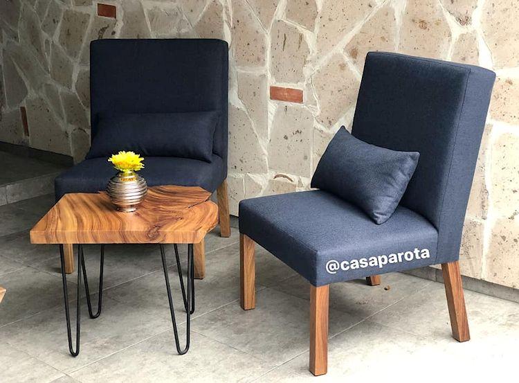 Casa Parota: muebles en madera de parota 2