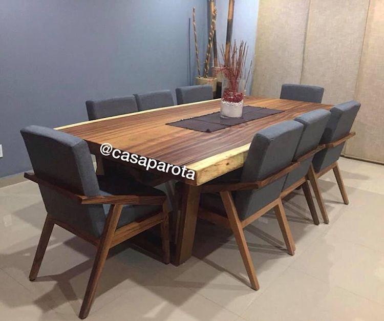Casa Parota: muebles en madera de parota 3