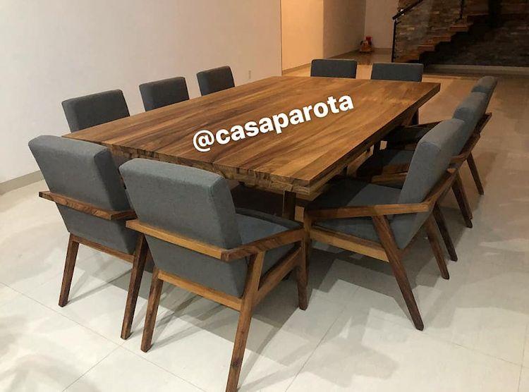 Casa Parota: muebles en madera de parota 4