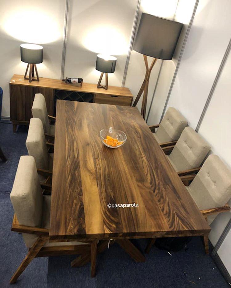 Casa Parota: muebles en madera de parota 6