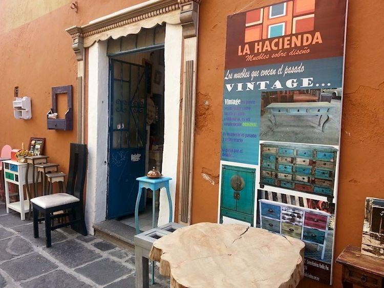 Muebles La Hacienda en el Centro Histórico, Puebla