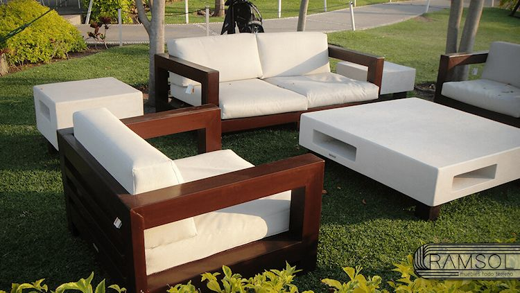 Ramsol - Muebles de exterior y diseño de pérgolas en la Ciudad de Mëxico 1