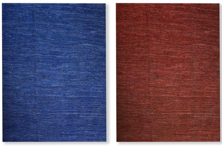 Bensire: tapetes afganos en lana de diseño minimalista