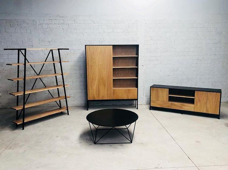 Vazpen: muebles contemporáneo de estilo industrial fabricados artesanalmente 1