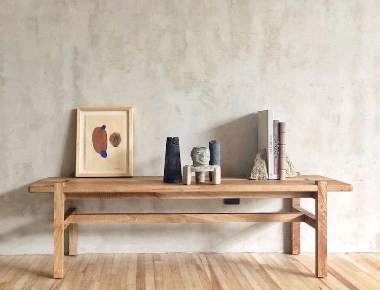 Muebles de diseño contemporáneo fabricados en madera natural para la casa 1